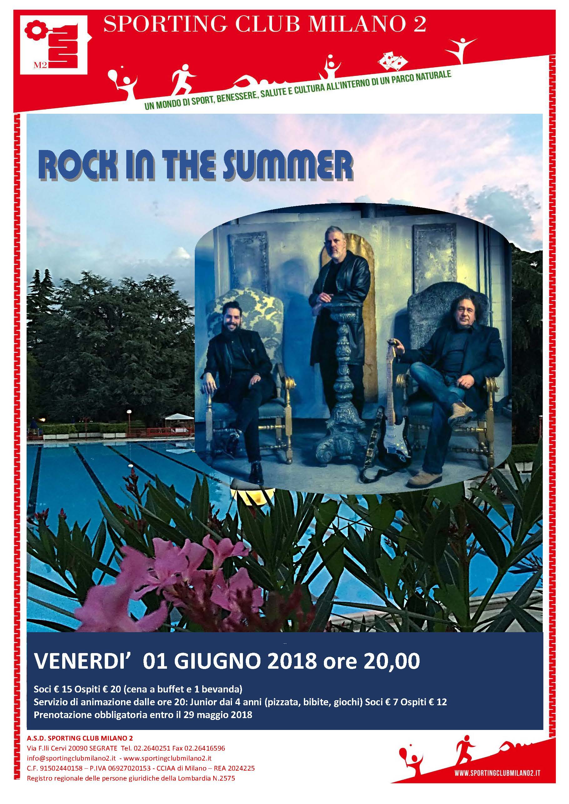 "Serata  ""ROCK IN THE SUMMER"""